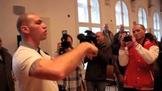 STEPHEN SIMMONS & WADI CAMACHO KICK OFF AT HEATED PRESS CONFERENCE (MUST WATCH)
