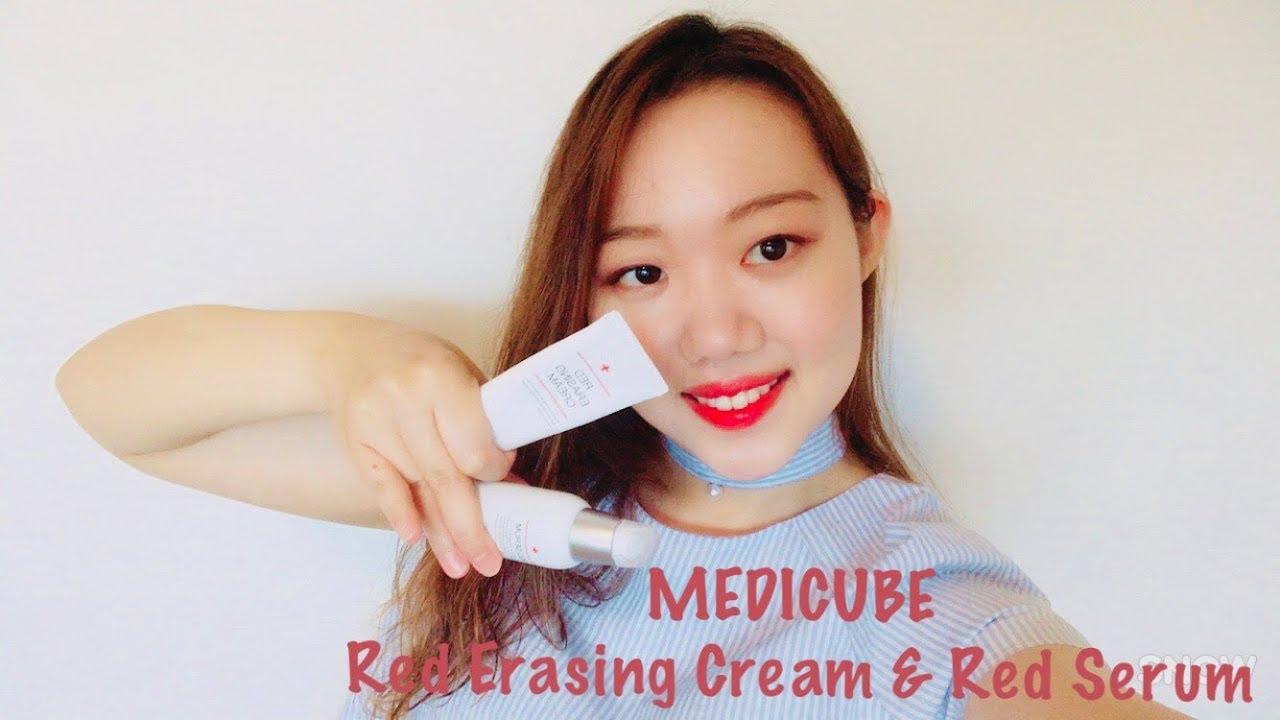 Medicube Red Erasing Cream Red Serum Lockkey Beauty By Lockkey