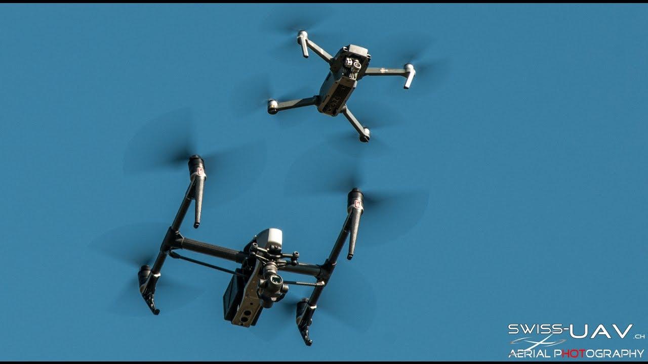 Phantom 4 Pro Drone >> MAVIC PRO v. s. INSPIRE 2 - YouTube