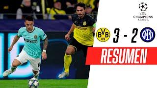 Borussia Dortmund - Inter [3-2] | GOLES | Grupo F | UEFA Champions League