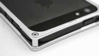aluminum 6061 t6 metal bumper frame case silver color for iphone 5 black