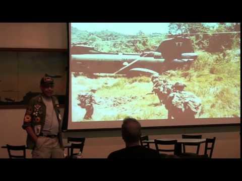 Samuel K.Beamon talks at Connecticuts Vietnam 50th Commemoration