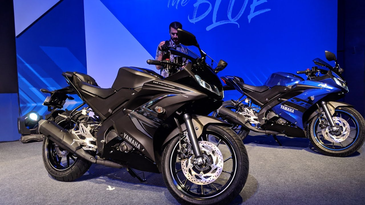 2019 Yamaha R15 V3 Black Abs Walkaround Review Hindi Motoroctane