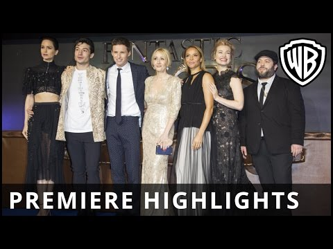 Fantastic Beasts and Where to Find Them - Premiere Highlights