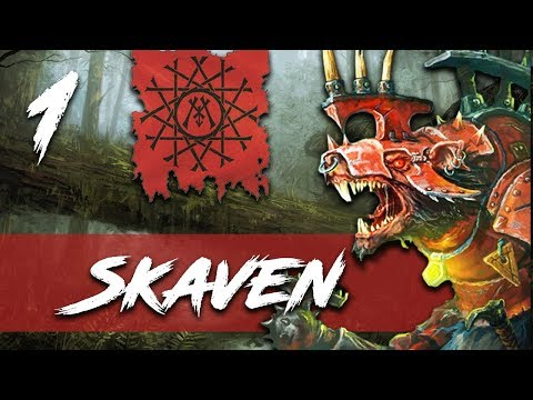 SKAVEN! NEW WARHAMMER 2 CAMPAIGN! - Total War: Warhammer 2 - Skaven Campaign - Queek Headtaker #1