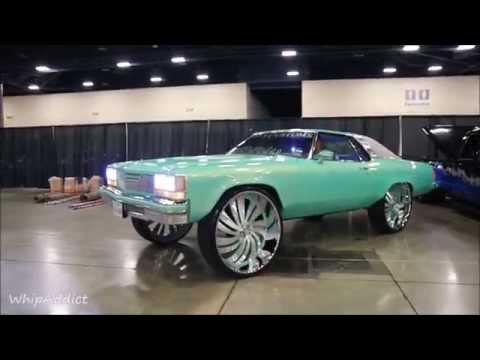 WhipAddict: Outrageous 76' Delta 88 on Forgiato Canale 32s by Caddys Customs TX.