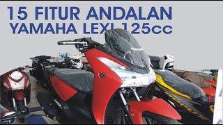 Yamaha LEXI 125 STANDAR, ADA 15 Futur Canggihnya