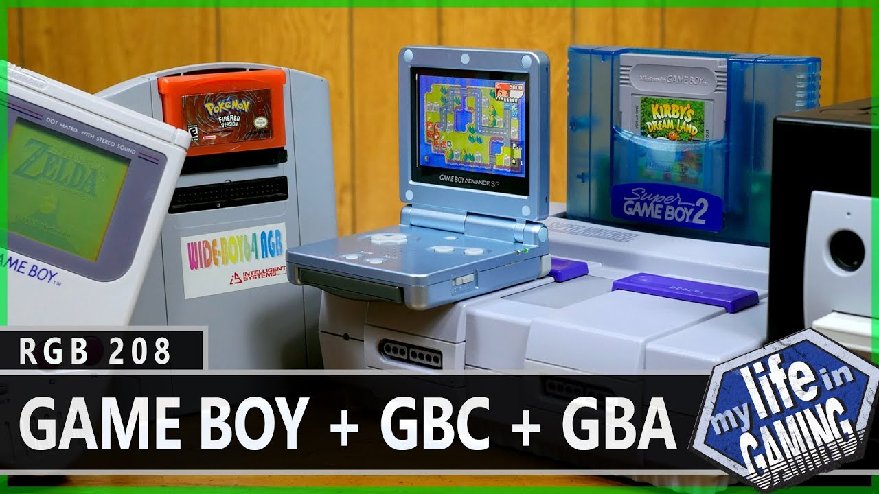 Gameboy color palettes - Rgb208 Getting The Best Picture From Your Game Boy Gbc Gba Games My Life In Gaming Youtube