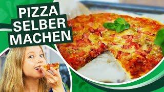 SCHNELLER PIZZATEIG!  🍕 Pizza selber machen - Margherita oder mehr? l Einfach Thermomix