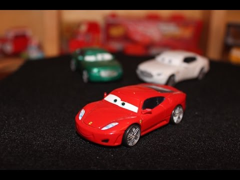 Mattel Disney Cars Ferrari F430 Michael Schumacher Die Cast Youtube