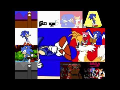 ReQuested Sonic Bloopers Sonic Bloopers 6 Sonic WAAAA!!! Has A Sparta Pulse V3 Remix