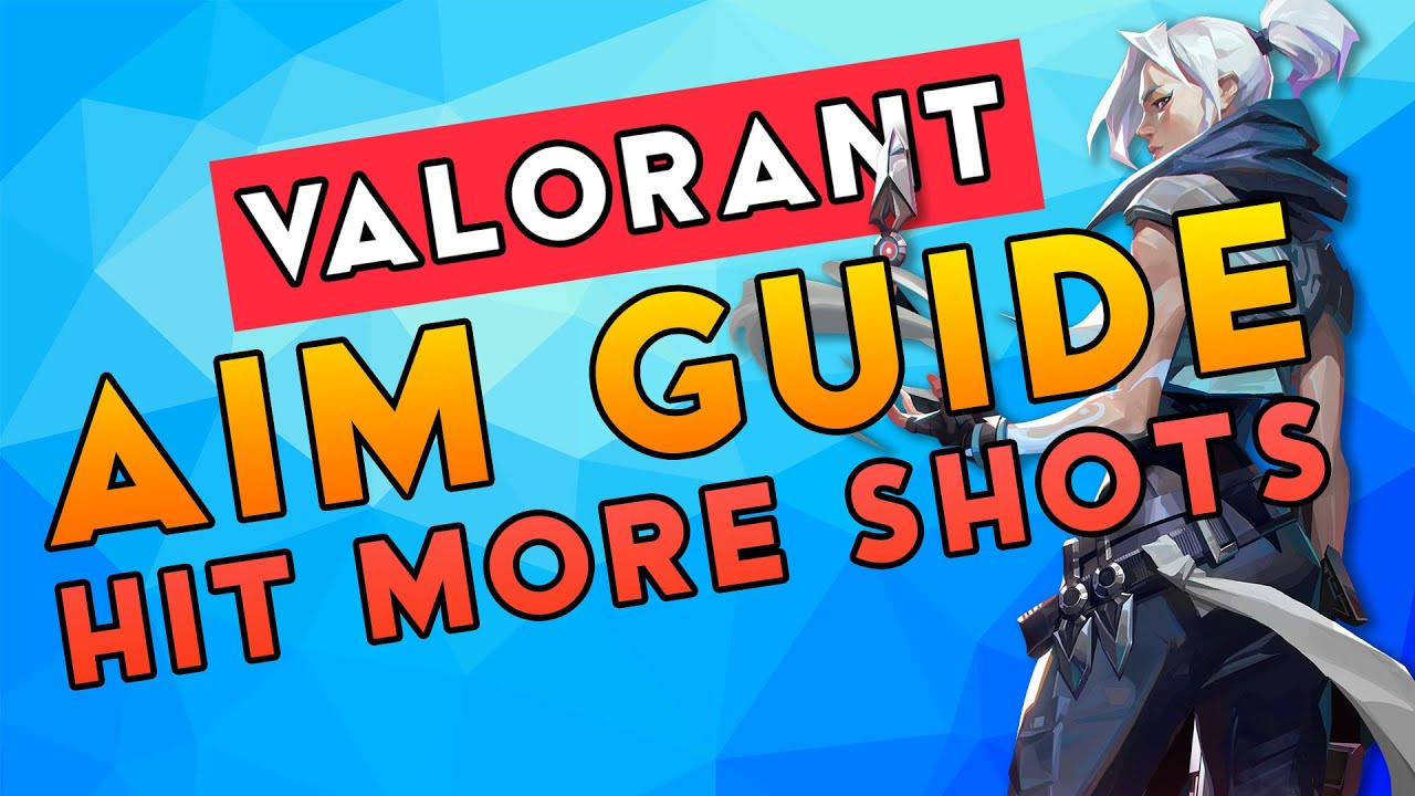 VALORANT AIM GUIDE - Better Aim in 3 MINUTES!