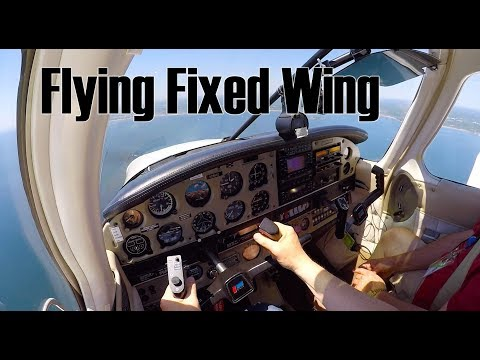 Learning To Fly Fixed Wing Aircraft After Helicopter.