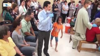 Lương y Võ Hoàng Yên chữa bệnh bại liệt  Người mẹ vui mừng chỉ biết khóc