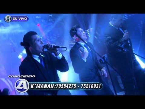 VIDEO: ORQUESTA K' MANÁH - Show en Vivo en Conociendo A (parte 3) - WWW.VIENDOESLACOSA.COM