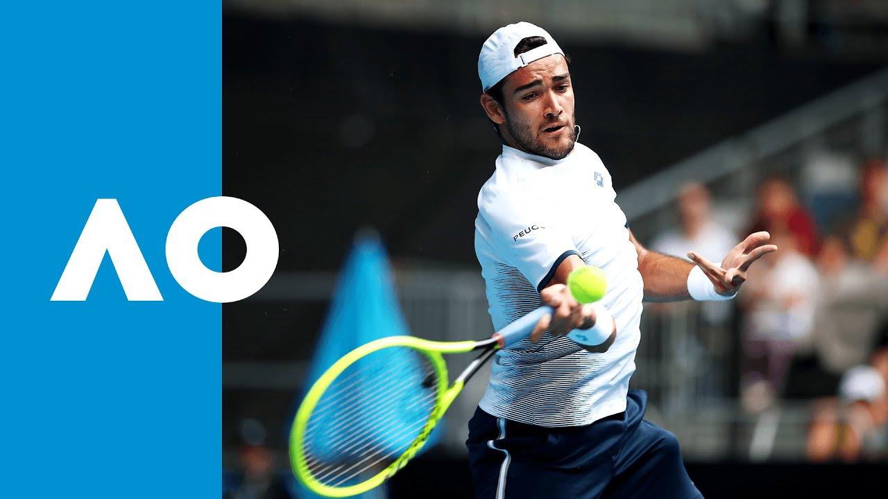Matteo Berrettini Vs Andrew Harris Australian Open 2020 R1