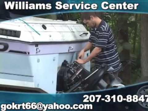 Williams Service Center, Raymond, ME