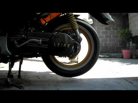Scooter LEIKE with Exhaust Yoshimura
