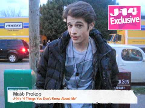 J14 Exclusive: 4 Things You Don't Know About Matt Prokop