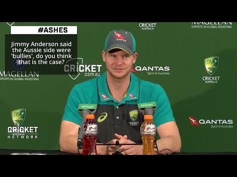 Anderson among cricket's 'biggest sledgers': Smith