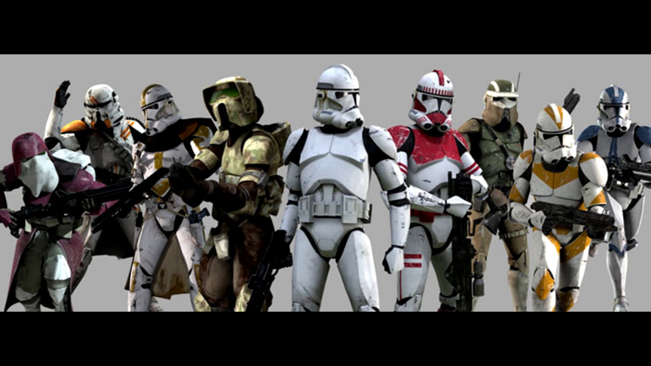 Star Wars Episode Iii Clone Troopers Voice Clips Youtube
