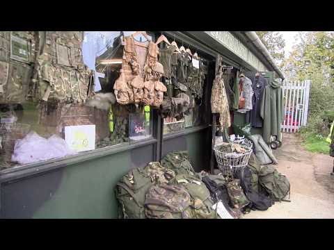 AWESOME MILITARY SURPLUS! The Quartermasters Military Store, LONDON UK