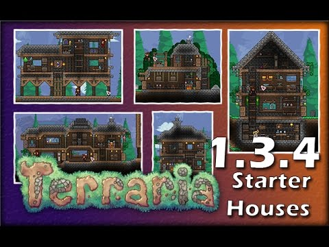 5 Awesome Starter Houses | Building Showcase | Tips and Tricks ...