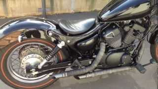 SOLD Custom Yamaha Virago 250 exhaust