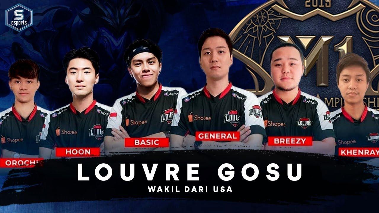 Louvre GOSU Wakil Dari USA | M1 MLBB World Championship 2019 |