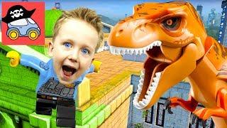 🚓 Lego City Undercover #20 ГИГАНТСКИЙ ДИНОЗАВР в Лего Сити Прохождение игры Жестянка СТРИМ