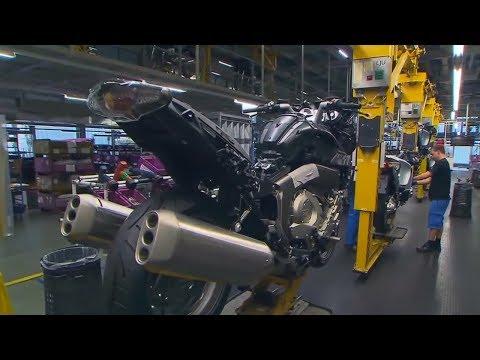 Как делают мотоциклы на заводе видео