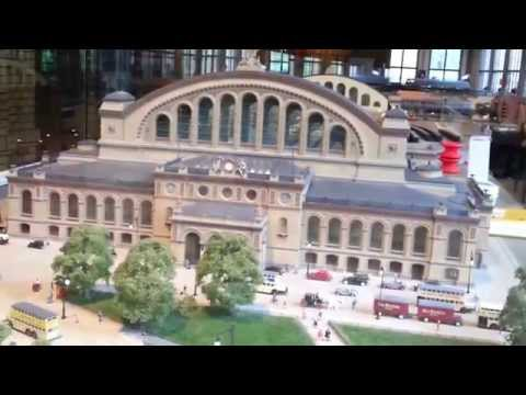 Modellbahn Anhalter Bahnhof in H0