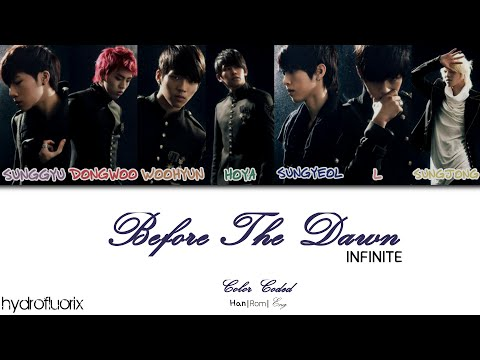 INFINITE - BTD (Before the Dawn) {Color Coded Lyrics Han|Rom|Eng}