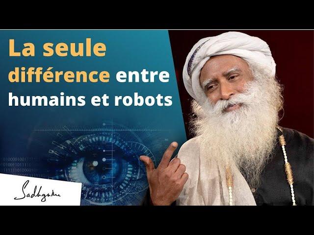 Les robots peuvent-ils remplacer les humains ? | Sadhguru Français