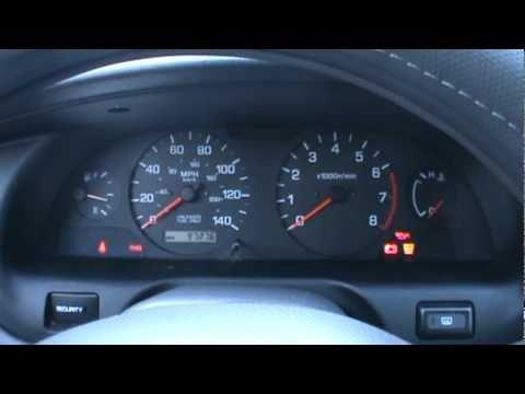 2000 Nissan Altima Dash Amp Cold Start Youtube