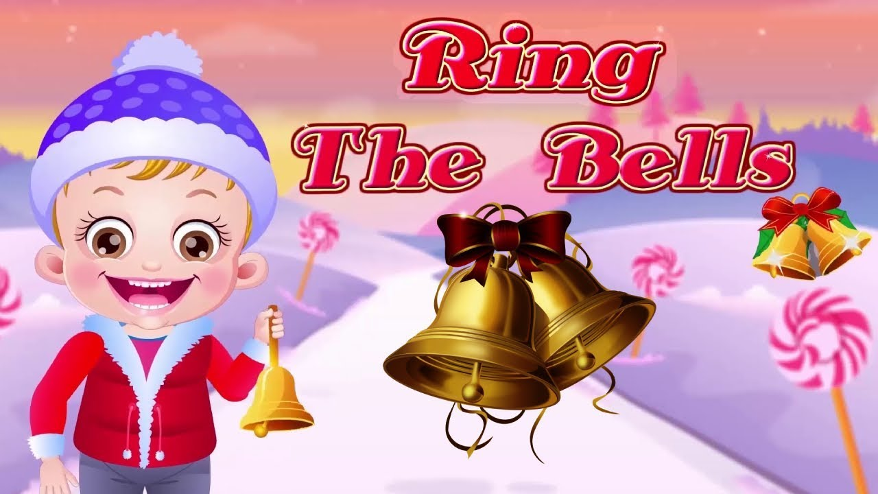 Ring The Bells Song For Christmas | Nursery Rhymes & Songs for Children | Baby Hazel Rhymes ...