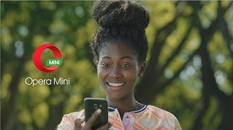 Save data with Opera Mini browser