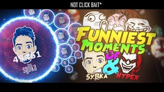 *GOTA.IO YOU LAUGH, YOU LOSE*!!! FUNNIEST MOMENTS OF SYBKA & HYPEX [PART #1]