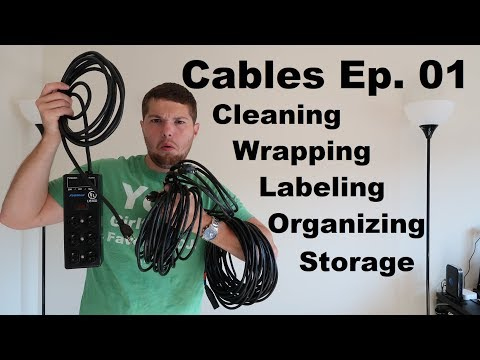 DJ Tutorials: How to Wrap Clean, Organize, and Store CABLES | Cables Ep 01