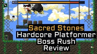 Sacred Stones in Under 90 Seconds! - Game Review - 2D Hardcore Platformer inspired by Cave Story