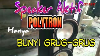 Video Cara memperbaiki Speaker Aktif POLYTRON hanya bunyi grug-grug download MP3, 3GP, MP4, WEBM, AVI, FLV Juli 2018