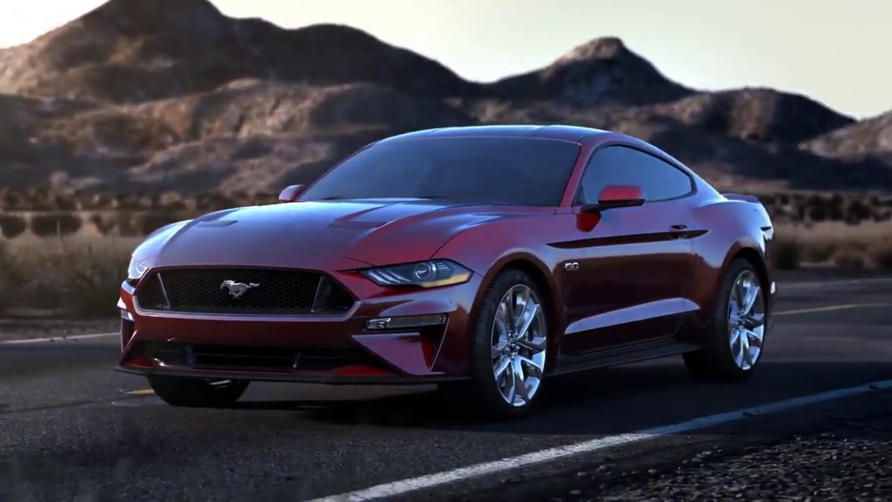 Ford australia introducing the 2018 ford mustang