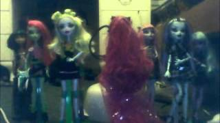 My First monster high stop motion video- we are monsters
