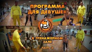 Программа тренировок для девушек в тренажерном зале (Часть 3)(Программа тренировок для девушек в тренажерном зале.Я хочу,чтобы мой фитнес блог был полезен не только..., 2016-02-26T05:00:00.000Z)