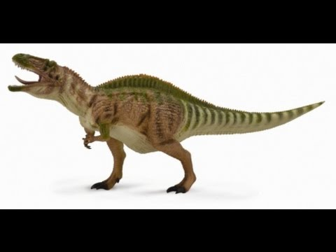 Dino-Reviews: Acrocanthosaurus by CollectA