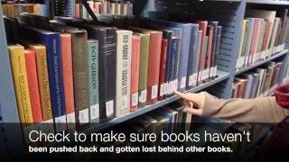 How to straighten library shelves thumbnail
