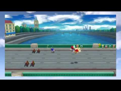 Mario and Sonic at the London 2012 Olympics Games Trailer