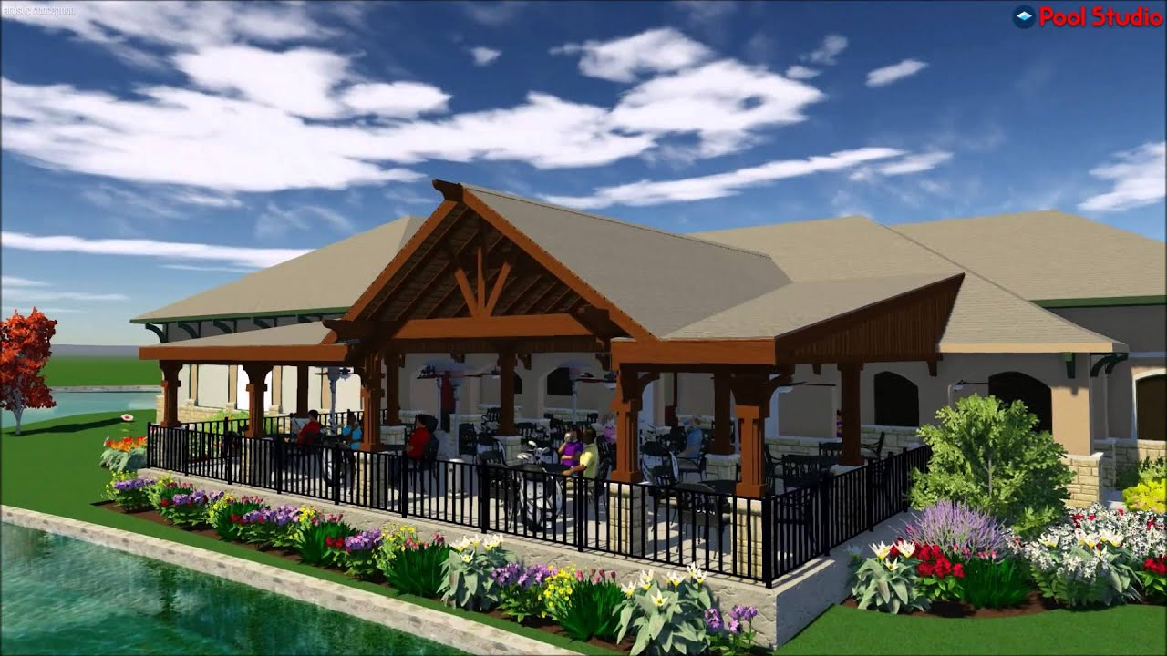 Frisco Lakes Golf Course   Patio Cover And Outdoor Dining In Frisco, Tx.
