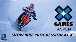 SNOW BIKE PROGRESSION | World of X Games