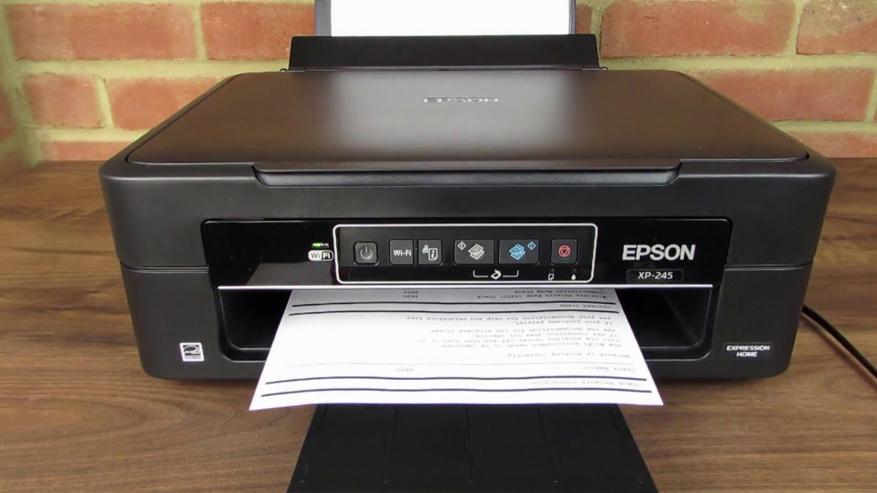 epson xp 245 wifi wps setup youtube. Black Bedroom Furniture Sets. Home Design Ideas